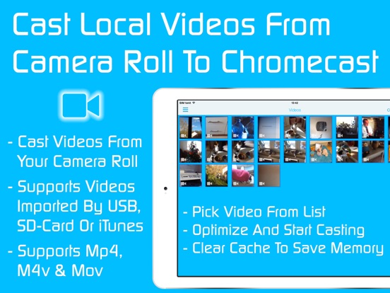 Video & TV Cast for Chromecast: Stream Movies App Screenshots