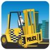 市警察の車リフター