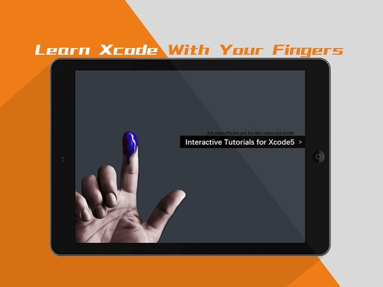 Interactive courses for Xcode5 Screenshots