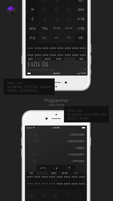 Calculator³ Скриншоты6