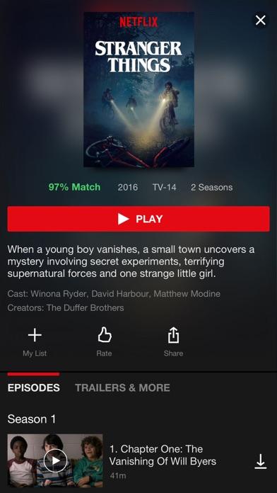 Netflix iPhone