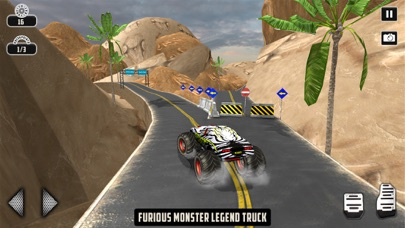 Off-road Monster Truck Game Скриншоты3