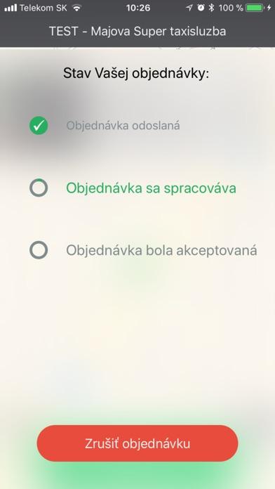 Snímka obrazovky iPhonu 3