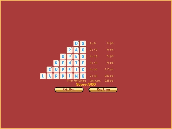 Dabble A Fast Paced Word Game Screenshots