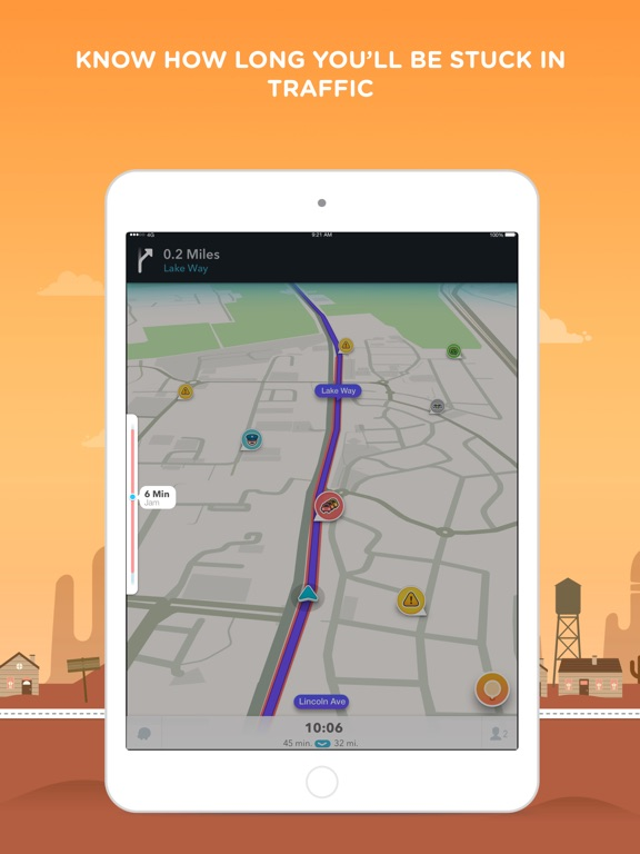 Waze Navigation Live Traffic On The App Store - Us road map for ipad