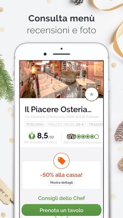 TheFork ristoranti e offerte Screenshot