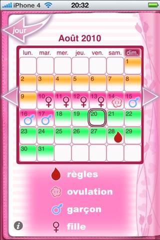 Maybe Baby™ Period & Fertility screenshot 1