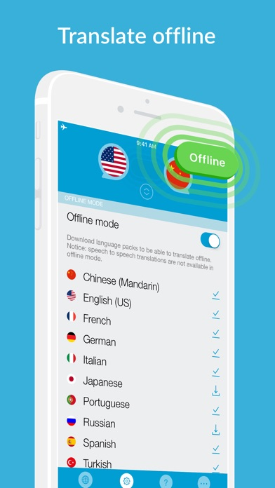 Speak 2 Translate -Live Voice and Text Translator with Speech Screenshot 2