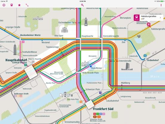 Frankfurt Rail Map Lite on the App Store