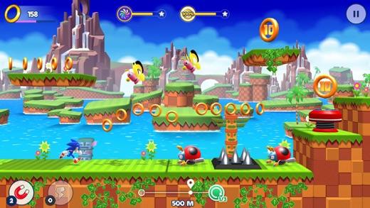 Sonic Runners Adventure Screenshot