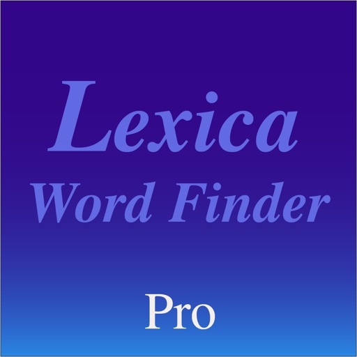 Lexica Word Finder Pro
