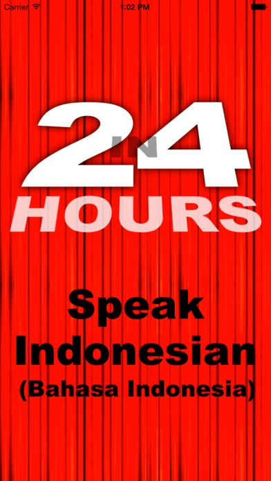 In 24 Hours Learn Indonesian iPhone