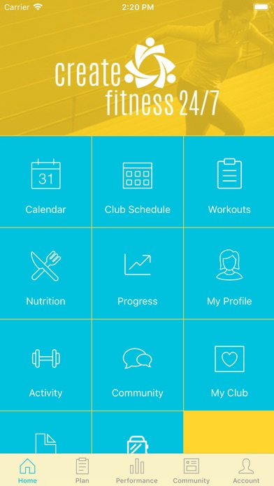 Create your fitness 24 7nundah app download android apk for Fitness 24 7 mobilia