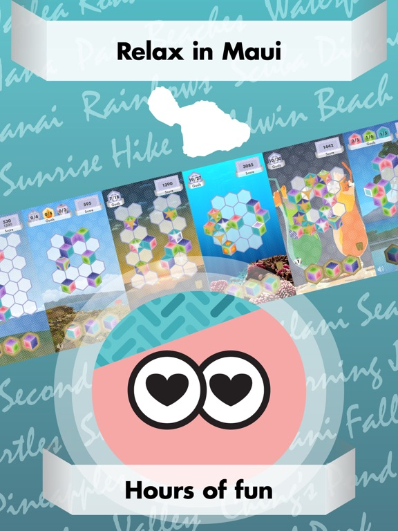 Triplicata Maui: Puzzle Game Screenshots