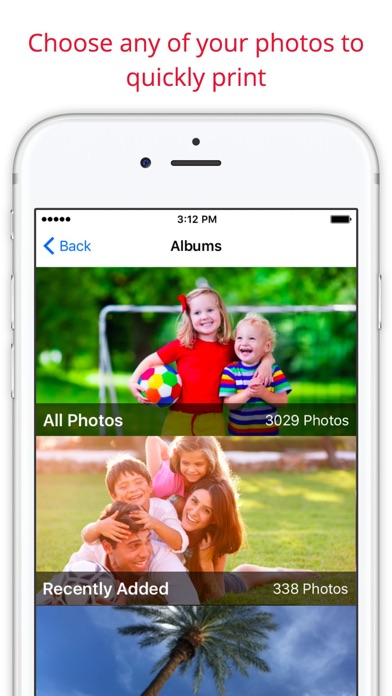 Screenshots of Print Photos: 1 Hour Prints for iPhone