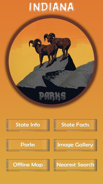 Screenshot for Indiana National Parks in Russian Federation App Store