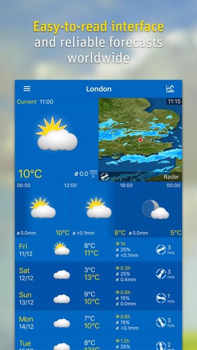 WeatherPro Screenshot 1
