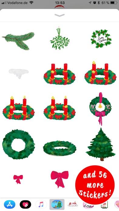 Стильные рождественские наклейСкриншоты 5