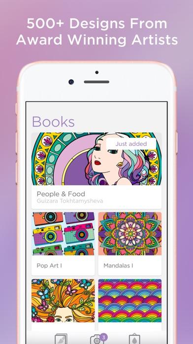 Bloom - Coloring Book 앱스토어 스크린샷