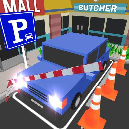 Parcheggio auto cartone animato d per zhufeng xu