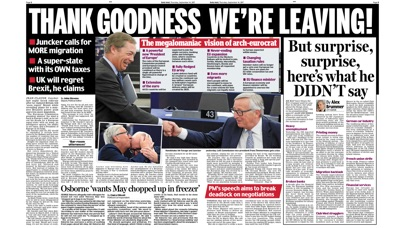 Daily Mail Newspaper review screenshots