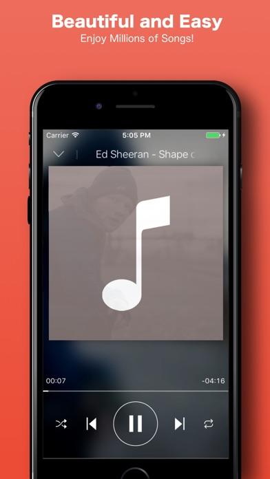 iMusic: MP3 Music Strеaming Playlist Mаnager. Screenshot 1