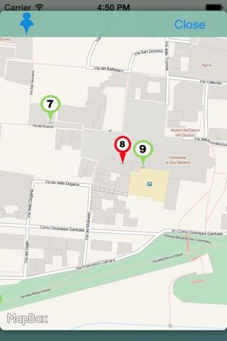 Lucca Audioguide screenshot 3