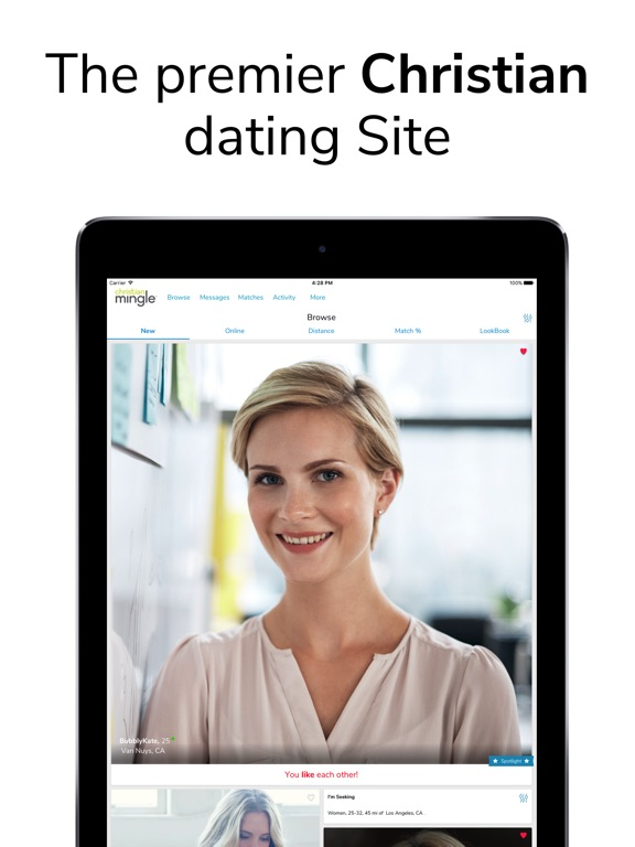 When will same sex dating become available on christian mingle