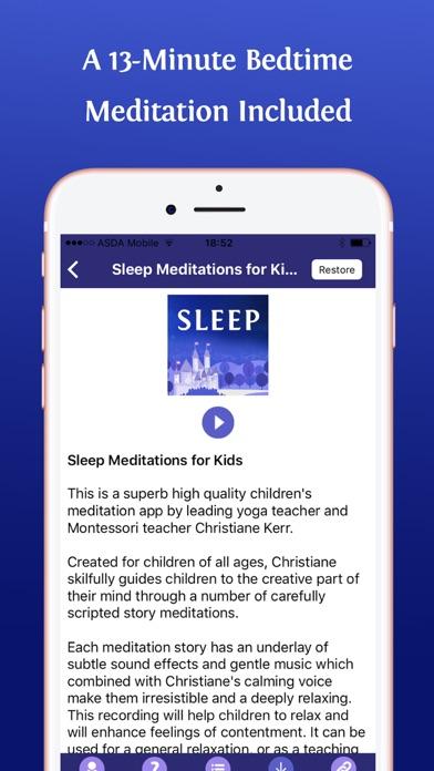 App Shopper: Sleep Meditations for Kids (Education)