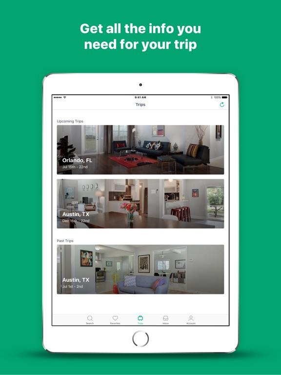 Screenshots of VRBO Vacation Rentals for iPad