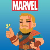 Marvel Stickers app review