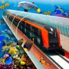 Nasir Butt - underwater train simulator artwork