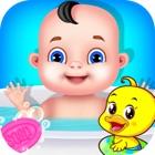 Bebé guardería salón y disfrac icon