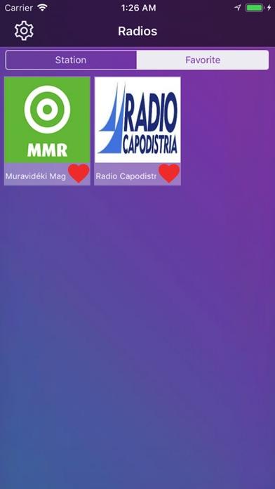 Radio Slovenija v1 screenshot 2