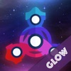 Fudget spinner GLOW app free for iPhone/iPad