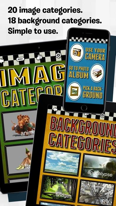 PhotoCrash 2 Overlay FX Editor Screenshots