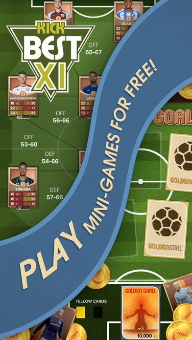 Screenshot of KICK: Card Trader di calcio5
