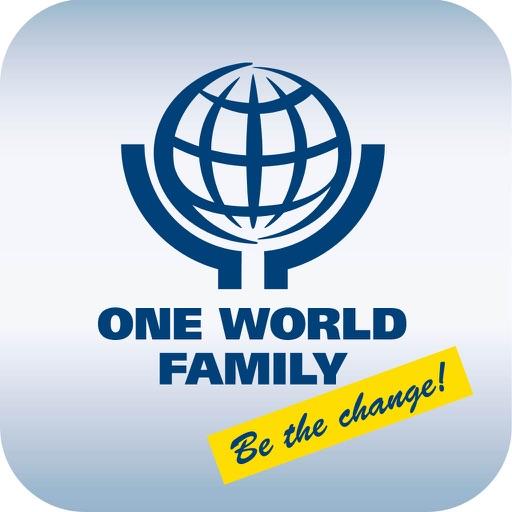 one world family by makro medien dienst gesellschaft mit beschraenkter haftung. Black Bedroom Furniture Sets. Home Design Ideas
