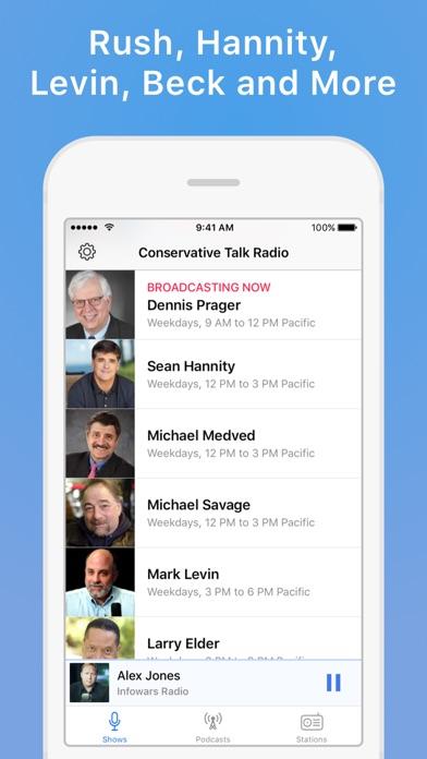 Conservative Talk Radio Plus Screenshots