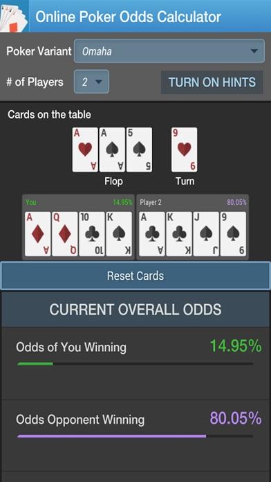 Carbon poker odds calculator mac