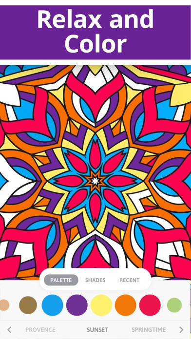 Coloring Book For Adults Now On The App Store