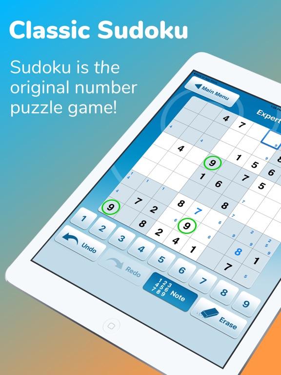 Screenshots of Sudoku :) for iPad