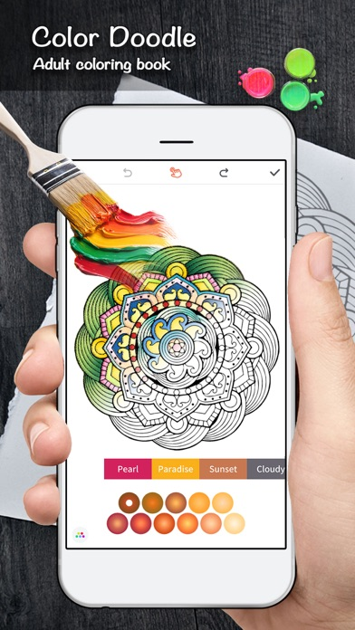 Color Doodle Coloring Book On The App Store