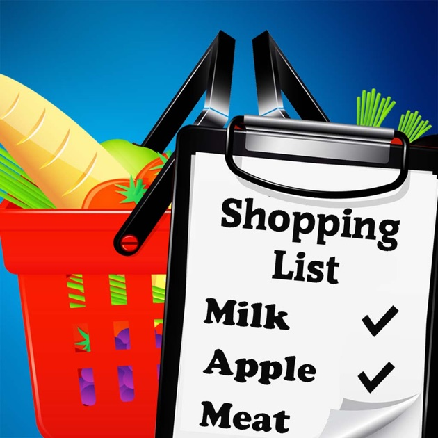 easy shopping list the simple grocery list maker on the