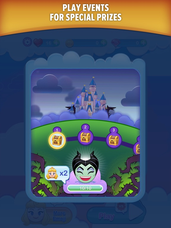 Screenshot #3 for Disney Emoji Blitz with Pixar