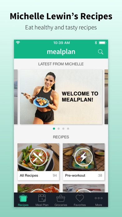 Mealplan by Michelle Lewin screenshot 1