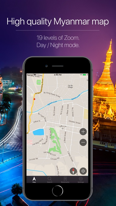 Screenshot for Myanmar Offline Navigation in South Africa App Store