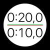 锻炼计时器 - 间隔圆形交叉训练表