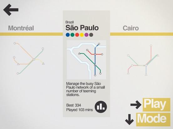 Screenshot #3 for Mini Metro
