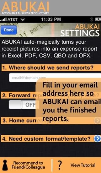 Screenshot von ABUKAI Rechnungen, Kosten3